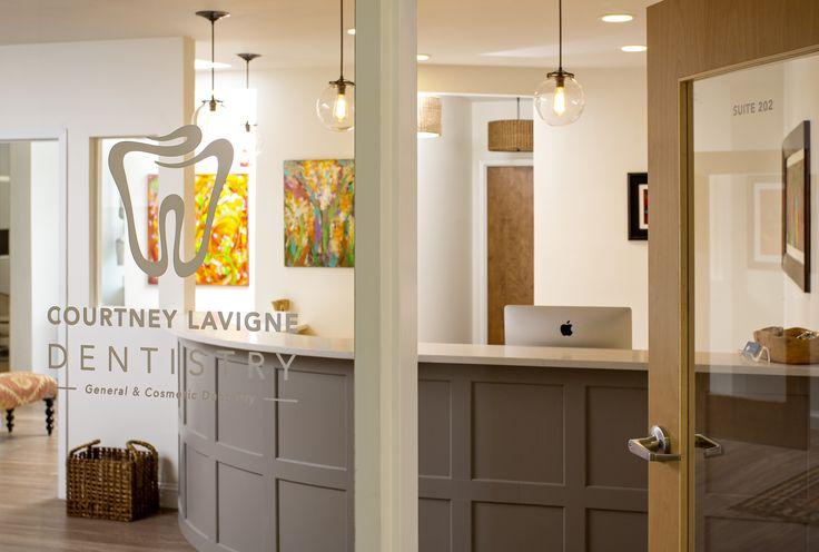 Dental office waiting room entrance!