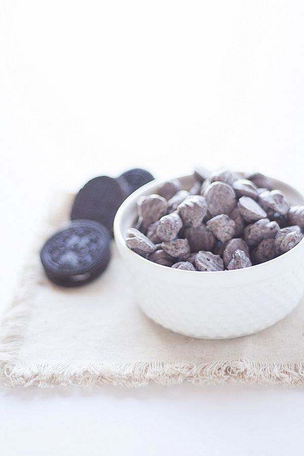 cookies and cream frozen yogurt dots - Heather's French Press