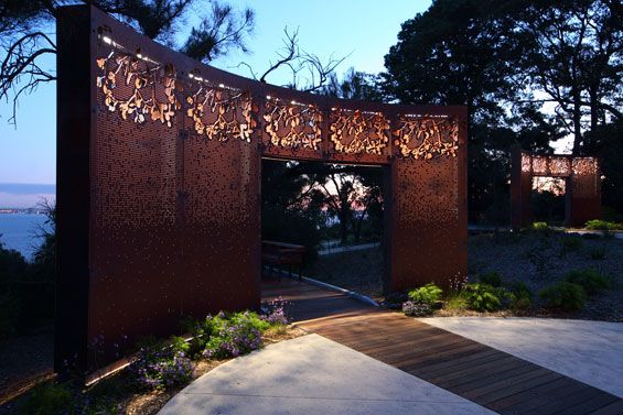 Working closely with BGPA, PLAN E has created a unique landscape upgrade at the southern end of the Western Australia Botanic Garden in Perth
