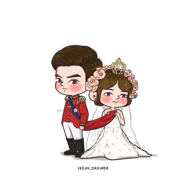 """위디 (@freak_drawer): [Prince InnKhaning] """"Let's start living for our happiness."""" #princesshours_thailand #princesshours #freakdart2017 #รักวุ่นๆเจ้าหญิงจอมจุ้น #PrincessHoursThailand"""