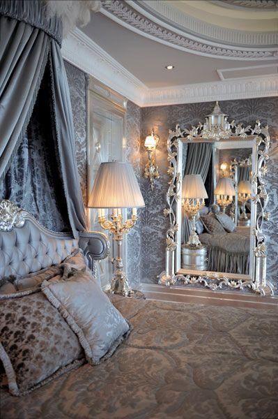 Suzy Homefaker Silver Metallic Painted Furniture