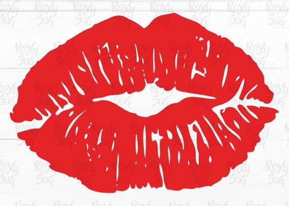 Download Premium Vector Of Pinup Style Lip Print 405478 Lip Print Tattoos Lipstick Mark Kiss Tattoos