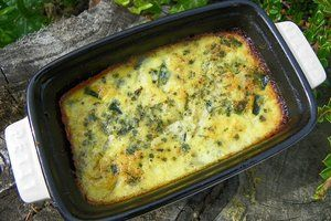 FLAN DE COURGETTES INDIVIDUEL ( thermomix)