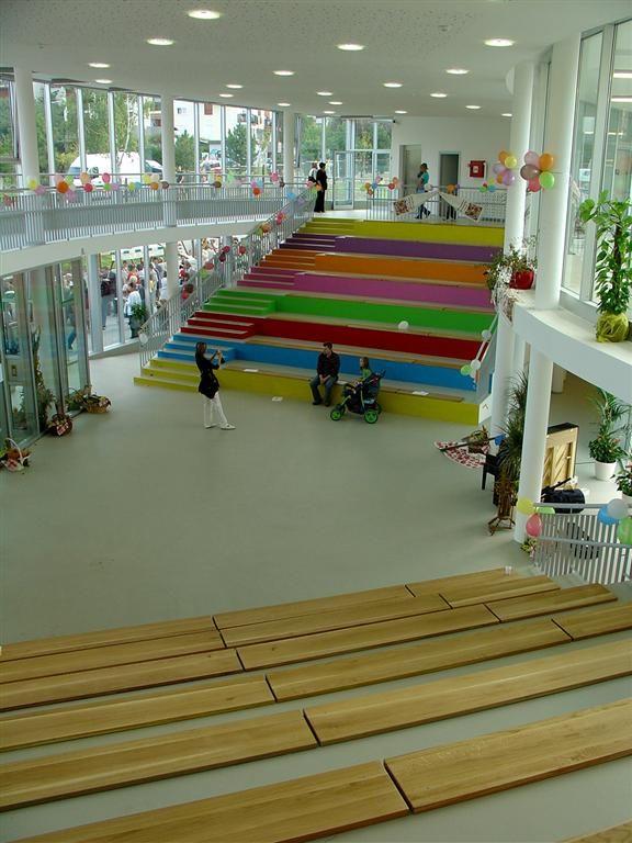 Segrt Hlapic Kindergarten, Sesvete, Zagreb, Croatia by Goran Rako, Nenad Ravnic and Josip Sabolic Architects