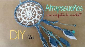 (19) atrapasueños mandala crochet - YouTube