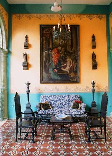 Hacienda Style, Karen Witynski Carr And Joe P. Might Have To Have That  Floor. Find This Pin And More On Mexican Interior Design Ideas ...