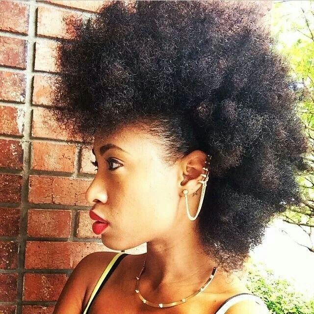 Natural Hair Types 4a 4b 4c