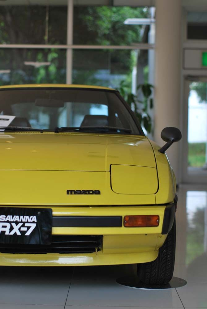 1979 RX-7 mine was a shade lighter yellow and not very nice. Worth more in parts. Sold the reared for more than I paid for the entire car.
