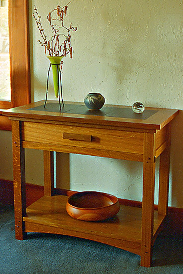 266 best craftsman style tables images on pinterest tables diy craftsman styles arts and crafts style side table or end table geotapseo Image collections