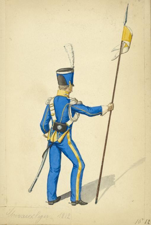 Kingdom of Naples Chevau Leger 1812