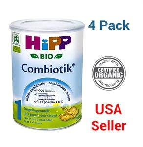 Picture of HiPP Stage 1 (0-6 months) Organic Combiotic Infant Formula Milk (900g/32oz) Dutch Version - 4 pack