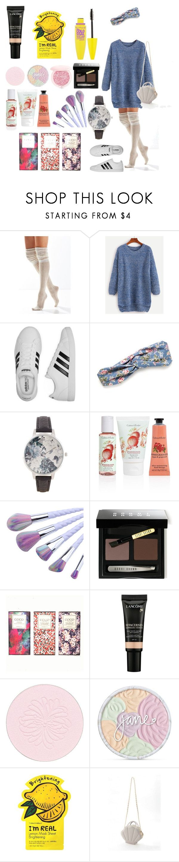 """""""Dreamy: 1"""" by helenasapp on Polyvore featuring Urban Outfitters, adidas, Red Camel, BKE, Crabtree & Evelyn, Bobbi Brown Cosmetics, Lancôme, Paul & Joe, jane and Charlotte Russe"""