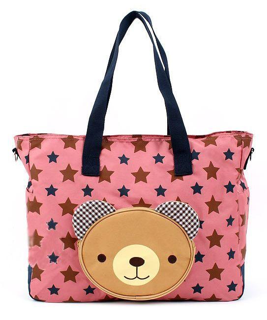 Korean Winghouse Bear Mummy Bag