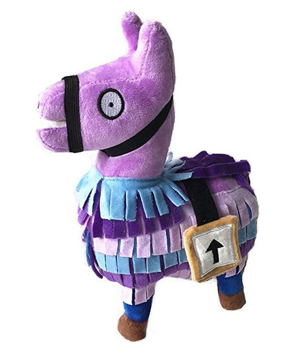 Kanzd 2018 Hot For Fortnite Loot Llama Plush Toy Figure Doll Soft