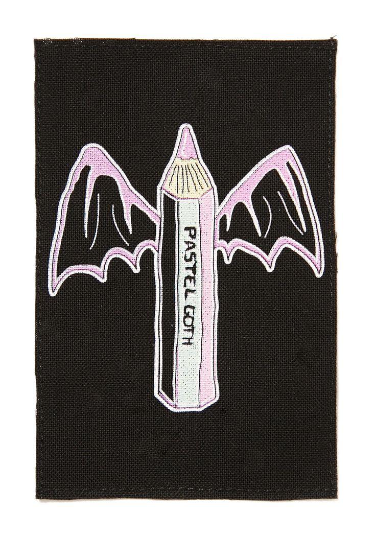 Pastel Goth Patch