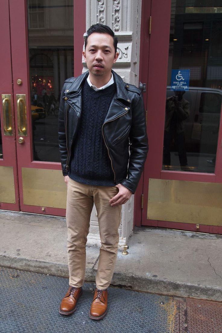 Black leather jacket shoes – Novelties of modern fashion photo blog