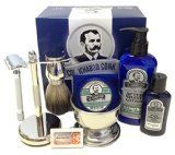 Looking for the best shaving kit for men? A great shaving kit is complete with a safety razor, a shaving brush, a lathering bowl & an awesome kit stand.