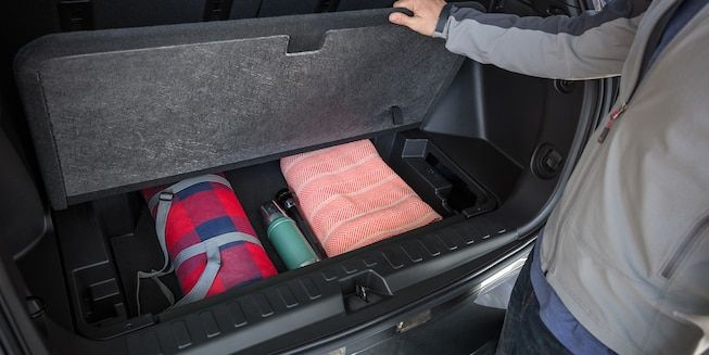 2019 Equinox Small Suv Interior Photo Of The Extra Cargo Space