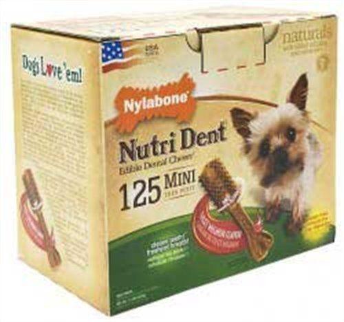 Nylabone Nutri Dent Filet Mignon, 125-Count Pantry Pack - http://www.thepuppy.org/nylabone-nutri-dent-filet-mignon-125-count-pantry-pack/