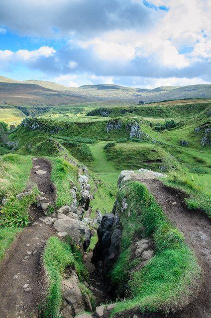 Fairy Glen, Isle of Skye Scotland.