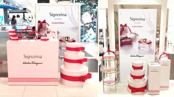bow place pink luxury love box Signorina POS Christmas 2013 Valentine's day 2014 Sotano Studio
