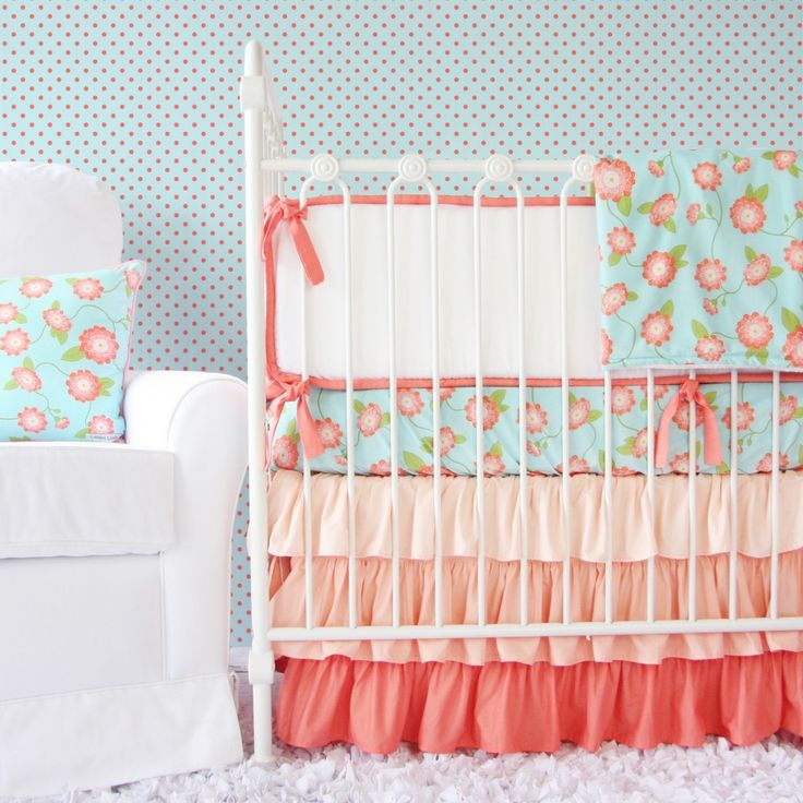 Baby Girl Bedding Sets: Ruffles, flowers, & frills ‹ Caden LaneCaden Lane