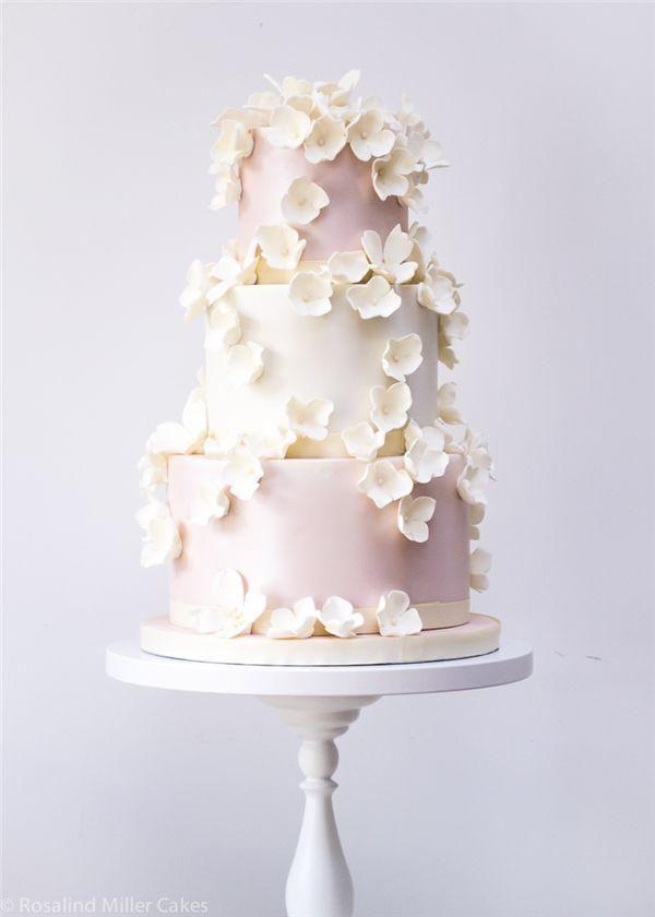 22 bolos elegantes do casamento com detalhes bonitos