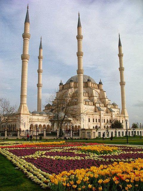 Sabancı Central Mosque in Adana, Turkey ❤ www.healthylivingmd.vemma.com ❤