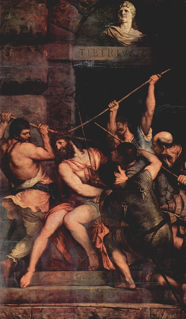 Incoronazione di spine-Tiziano