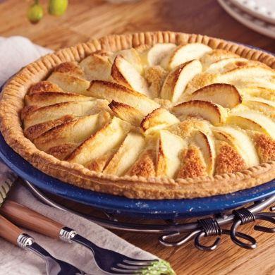 Tarte amandine aux pommes - Recettes - Cuisine et nutrition - Pratico Pratiques - Desserts