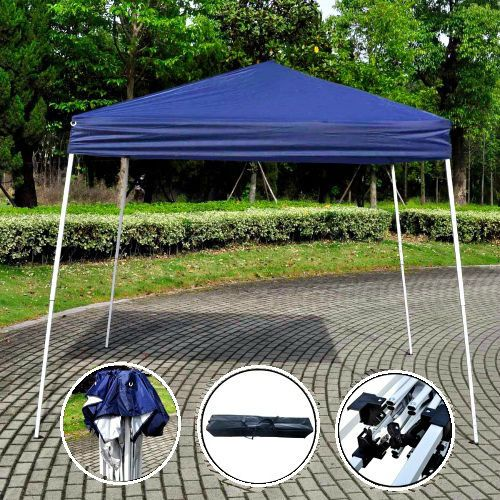 Heavy Duty Pop Up Gazebo 3x3m Folding Garden Tent Patio Sun Shade Party Marquee  #GoPlus #PopupGazebo