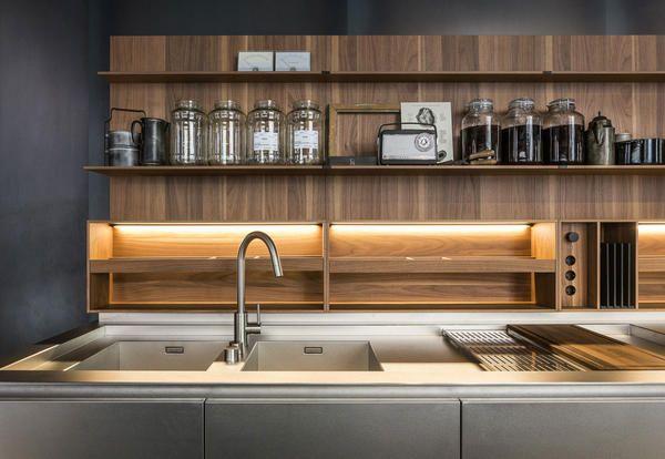 La nuova cucina Boffi Code è un arredo personalizzabile di alta falegnameria