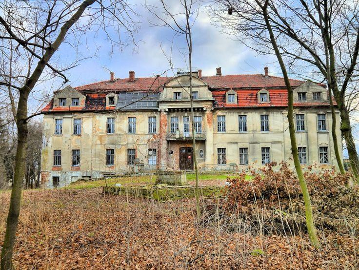 Palace in Trawniki, Opolskie province, Poland.