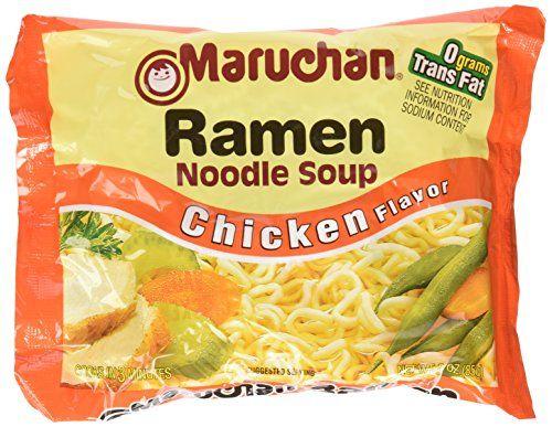 Traditional Maruchan Ramen Noodle Soup, Chicken Flavor, 3 oz, 36 Packs, ,