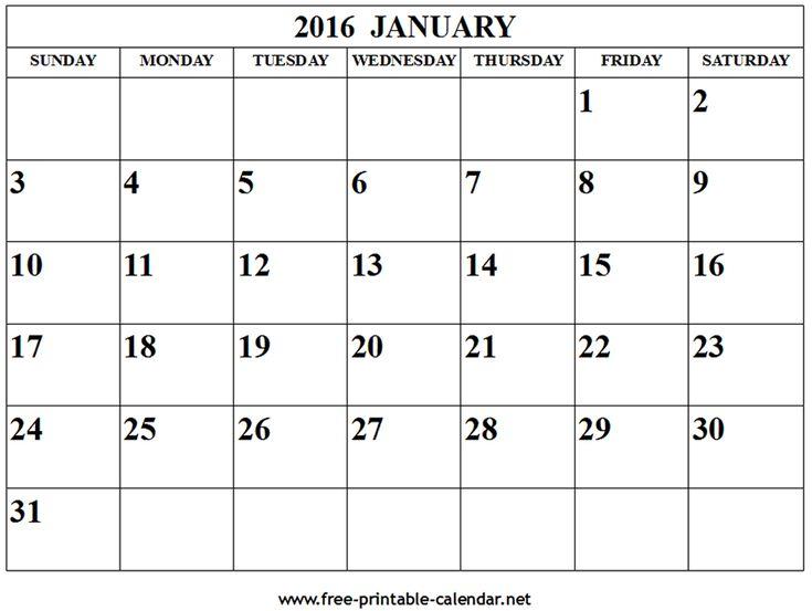 The 25+ best February 2016 calendar template ideas on Pinterest - vacation calendar template