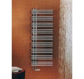 Zehnder Yucca designradiator horizontaal assymetrisch 872x478mm 247W chroom - YAC09050 - Sanitairwinkel.nl