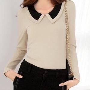 Puffy Long Sleeve Top with ..