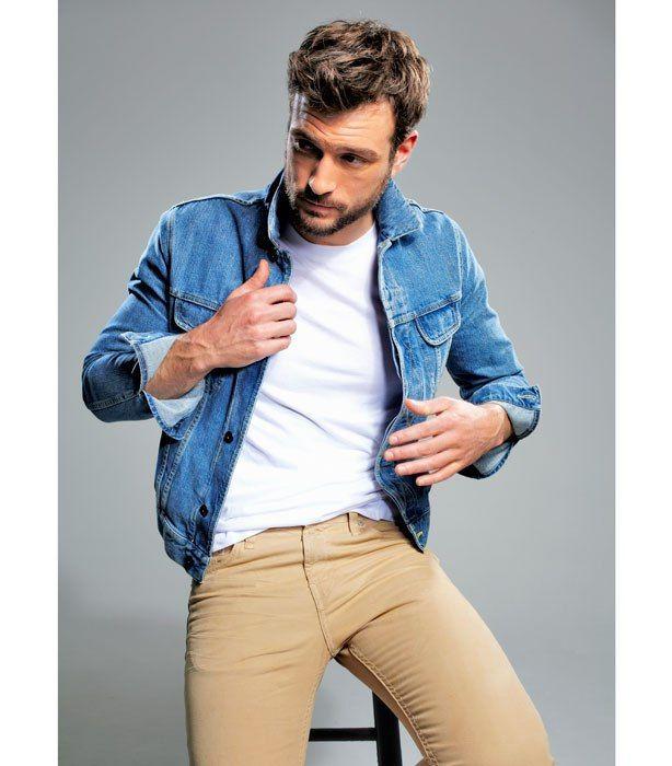 Smart denim jacket outfit spring - #theunstitchd