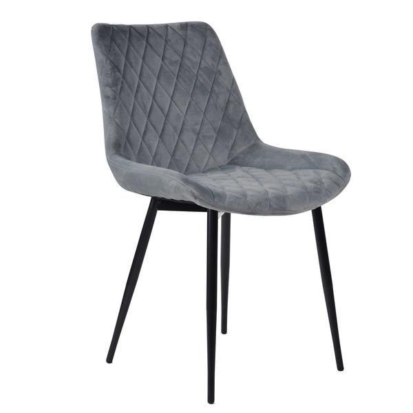 Unser Vollgepolsterter Samt Stuhl Grace Ist Nicht Nur Ein Echter Hingucker Auch Hat Er Einen Unschlagbaren Sitzkomfort Polsterstuhl Stuhle Esszimmerstuhle