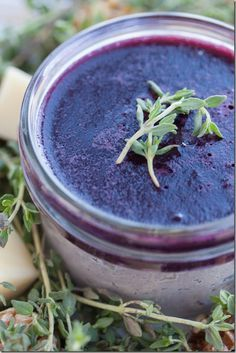 Blueberry Balsamic Beef Liver Pâté: As delicious as it is nutritious! The blueberries lend a nice sweetness to this lovely pâté. (Paleo, FODMAP-free, AIP)