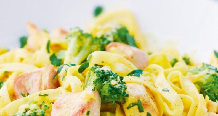 Snelle curry met broccoli en kip, 10 p