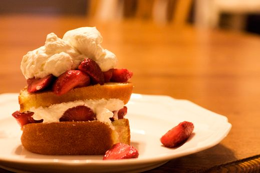 """Strawberry Shortcake is probably the easiest """"fancy"""" dessert you can make. That is assuming you are making it easy on yourself by purchasing the cake portion."""