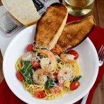 Shrimp+Florentine+Pasta