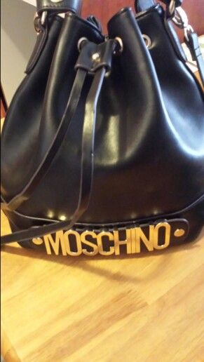 Welcome  new baby  love moschino. Moschino world.