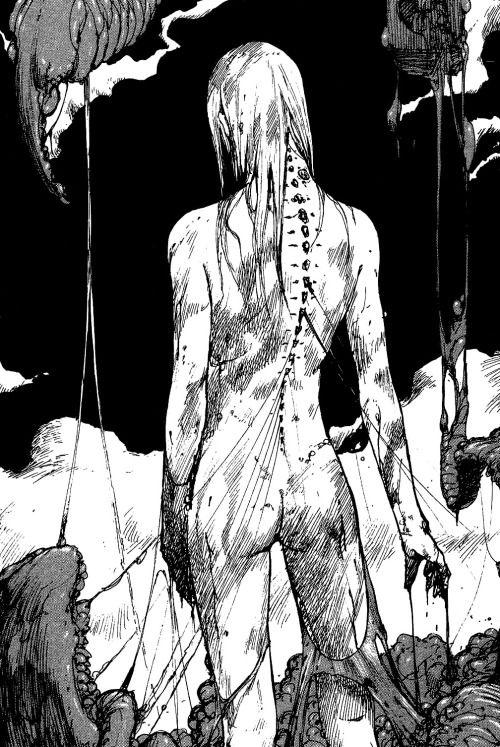 "From ""Abara"" by Tsutomu Nihei"