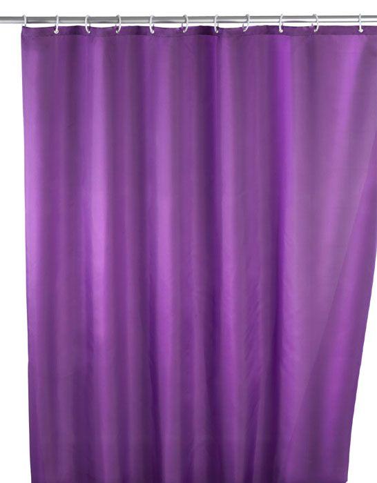 Der klassische Anti-Schimmel Duschvorhang in lila ist aus 100% Polyester und mit einem sensationellen Anti-Schimmel-Effekt ausgestattet, sowie antibakteriell beschichtet. Der Duschvorhang ist besonders haltbar und pflegeleicht. Für 24,99 bei kloundco.de.