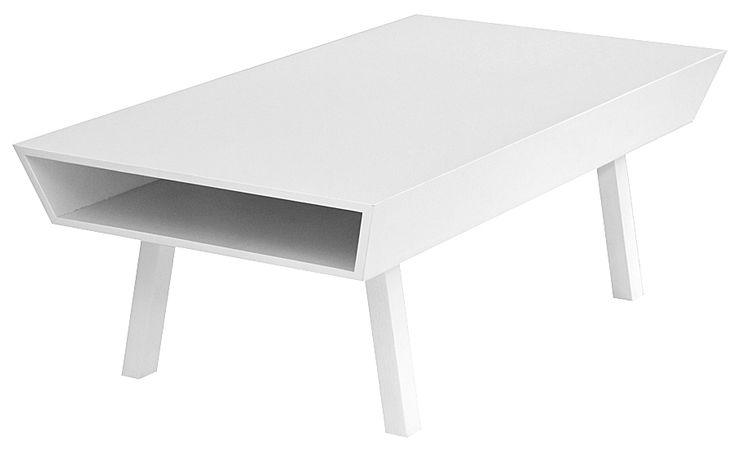 Vitt skandinaviskt design soffbord - Welander Design