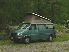 traveling and touring of the United States in a Volkswagen Westfalia Camper conversion
