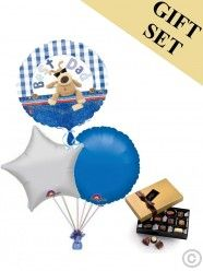 Best Dad Boofle Balloon and Large Chocolates