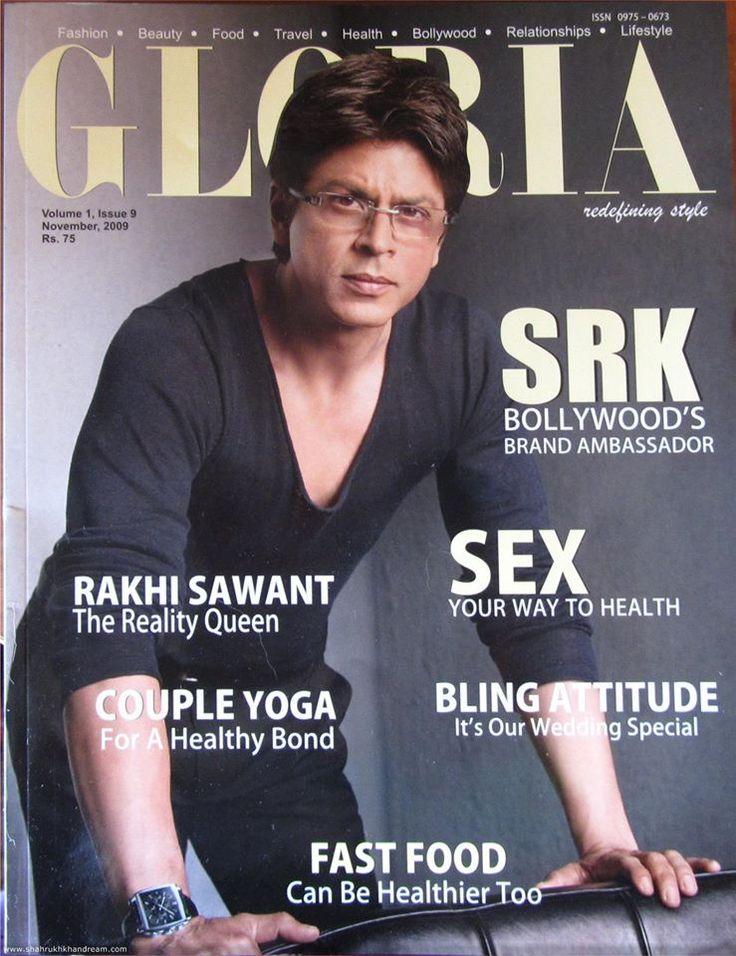 Flashback: Shah Rukh Khan on the cover of the Gloria Magazine November 2009 issue http://srkuniverse.com/flashback-shah-rukh-khan-cover-gloria-magazine-november-2009-issue…